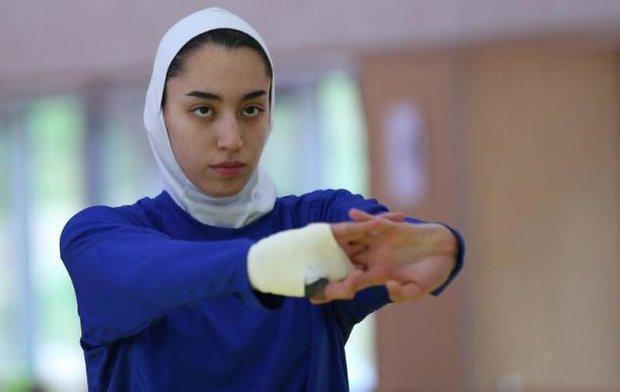 امیدوارم کیمیا علیزاده هر چه زودتر به تمرینات بازگردد