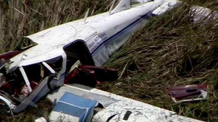 کشته شدن 2 نفر بر اثر سقوط هواپیما در ترکیه