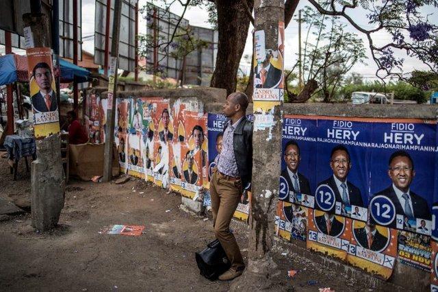 برگزاری انتخابات ریاست جمهوری در ماداگاسکار