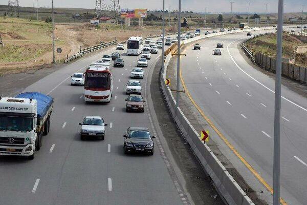 کاهش 35 درصدی ترافیک در محورهای کرمانشاه
