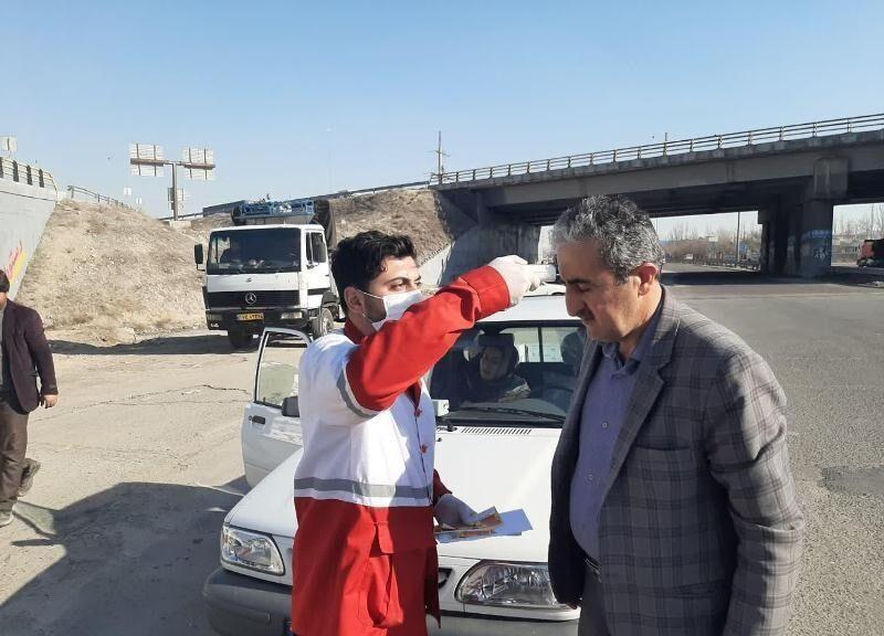 خبرنگاران سه پایگاه تب سنجی در تربت حیدریه فعال است
